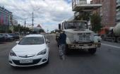 пр-кт Московский: ДТП Вышка и опель на памятнике слава